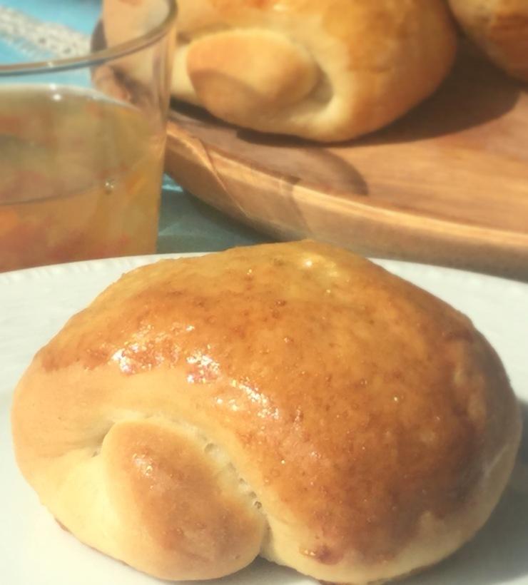Milk Bread Rolls for Beth